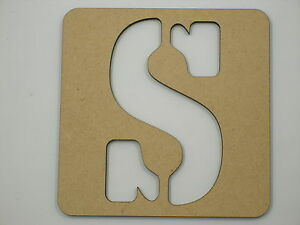 Image Is Loading 20cm Large Wooden Letter Words Stencil Letters Alphabet