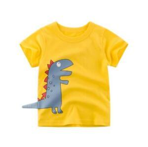 1-8 Yrs Kids Boys Toddler 100/% Cotton Cartoon Crocodile Hoodies Sweater Outwear