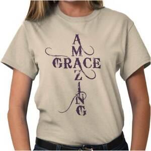 Amazing-Grace-Religious-Christian-Strong-Jesus-Christ-God-T-Shirt-Tee