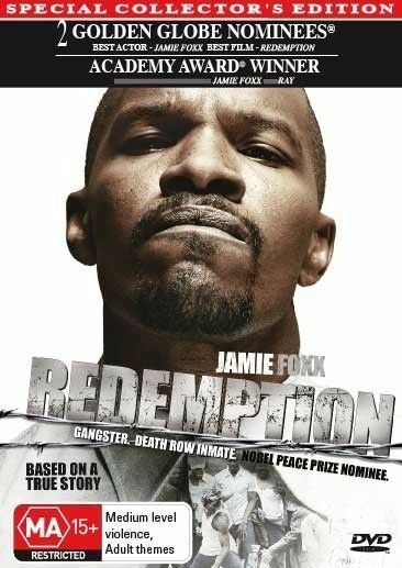 Redemption JAMIE FOXX TRUE STORY OF CRIPS GANG CRIME PRISON TOOKIE R4 DVD AS NEW