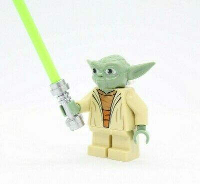 LEGO STAR WARS YODA 100/% GENUINE LEGO MINIFIGURE 75002 MINIFIG