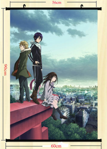 Noragami Yato Art Silk Poster Wall Scroll 24x36 Wall Decoration 006