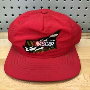 Vintage NASCAR Racing Red Hat AP Exhaust Systems Swingster Brand 80's Snapback