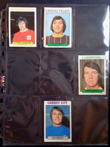 A/&BC 1971 PURPLE BACK 2ND SERIES *PICK THE CARDS YOU NEED* GOOD 165 TO 219