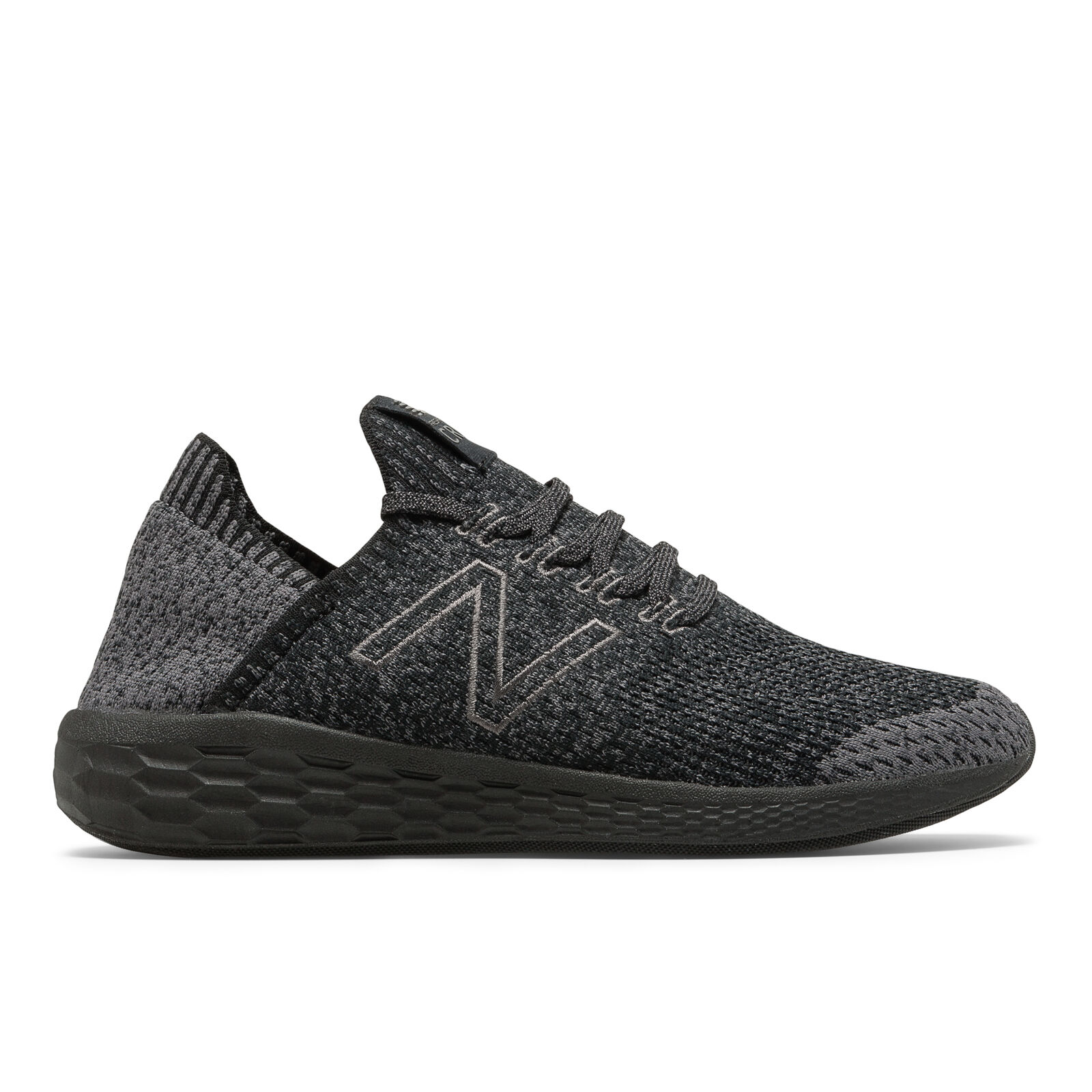 New Balance MCRZSSM2 Cruz v2 Fresh Foam Magnet Black Men's Running shoes