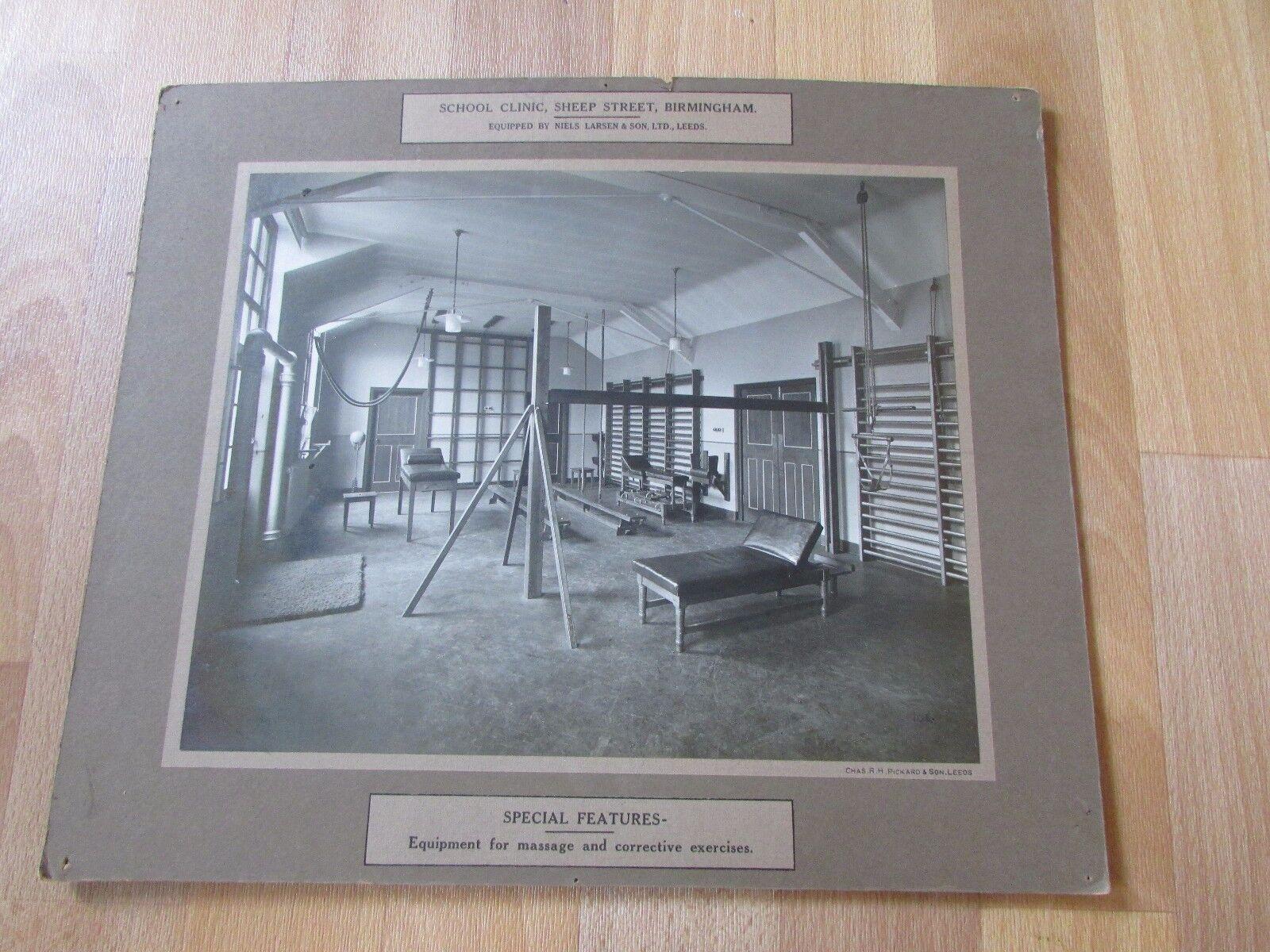 School Clinic Sheep Street BIRMINGHAM Original Exercise Room Photo by Makers