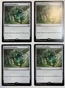 NearMint Magic MTG Emerald Medallion ~ Commander Anthology