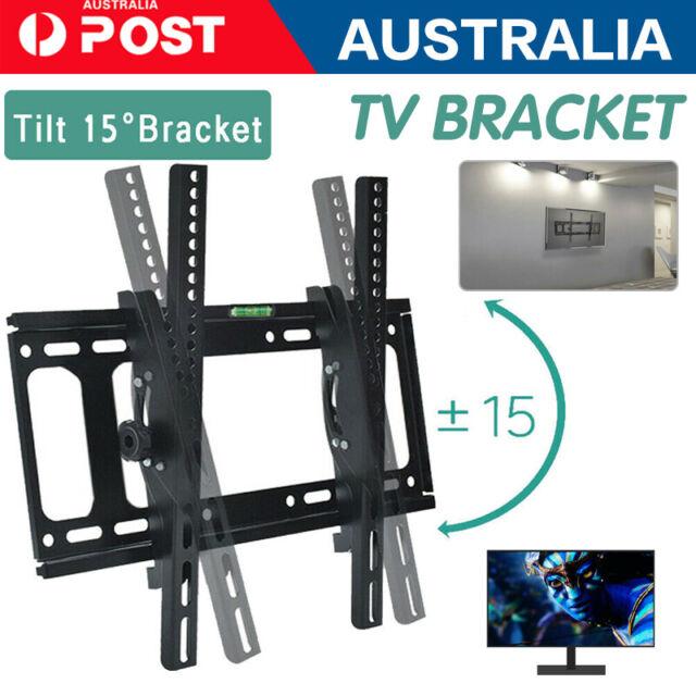 TV Wall Mount Monitor Bracket Swivel Tilt 14 32 40 42 47 50 52 55 60 65 70 LCD