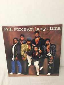 Full-Force-034-Get-Busy-1-Time-034-LP-1986-Holland-Press-CBS-Records
