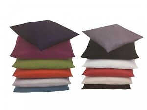 housse de coussin coussin d coratif alessia 12 farben 40x40 30x50 50x50 60x60 ebay. Black Bedroom Furniture Sets. Home Design Ideas