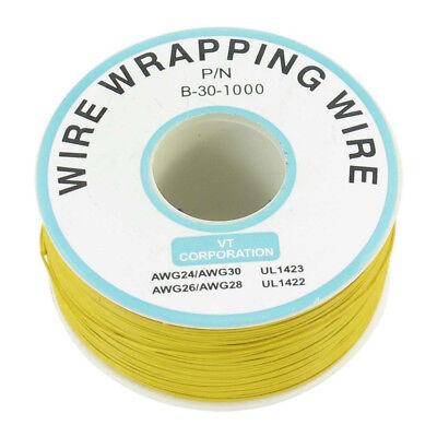 30GA Wrapping Wire Couleur Noire Simple Brin Cuivre Câble OK fil électrique