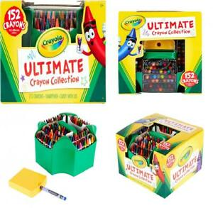 Gift Crayola Ultimate Crayon Collection Coloring Supplies Styles May Vary 152 Pieces