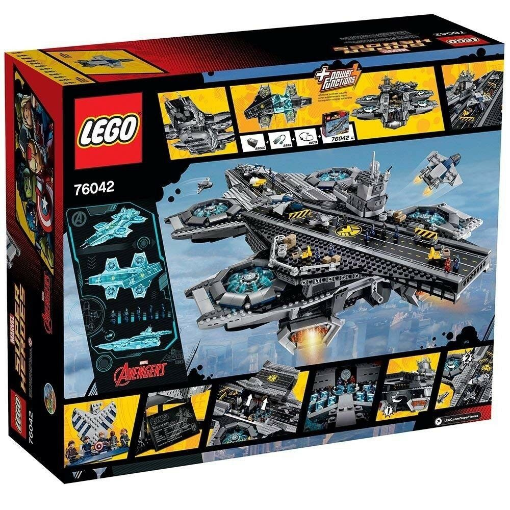 LEGO Marvel Super Heroes 76042 The SHIELD SHIELD SHIELD Helicarrier(Brand NEW & SEALED) GIFT 29e7ef