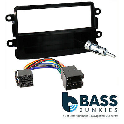 CT24DC03 Dacia Duster 2012 On Car Stereo Radio Fascia ISO /& Aerial Fitting Kit