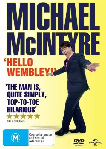 1 of 1 - Michael Mcintyre - Wembley (DVD, 2014)