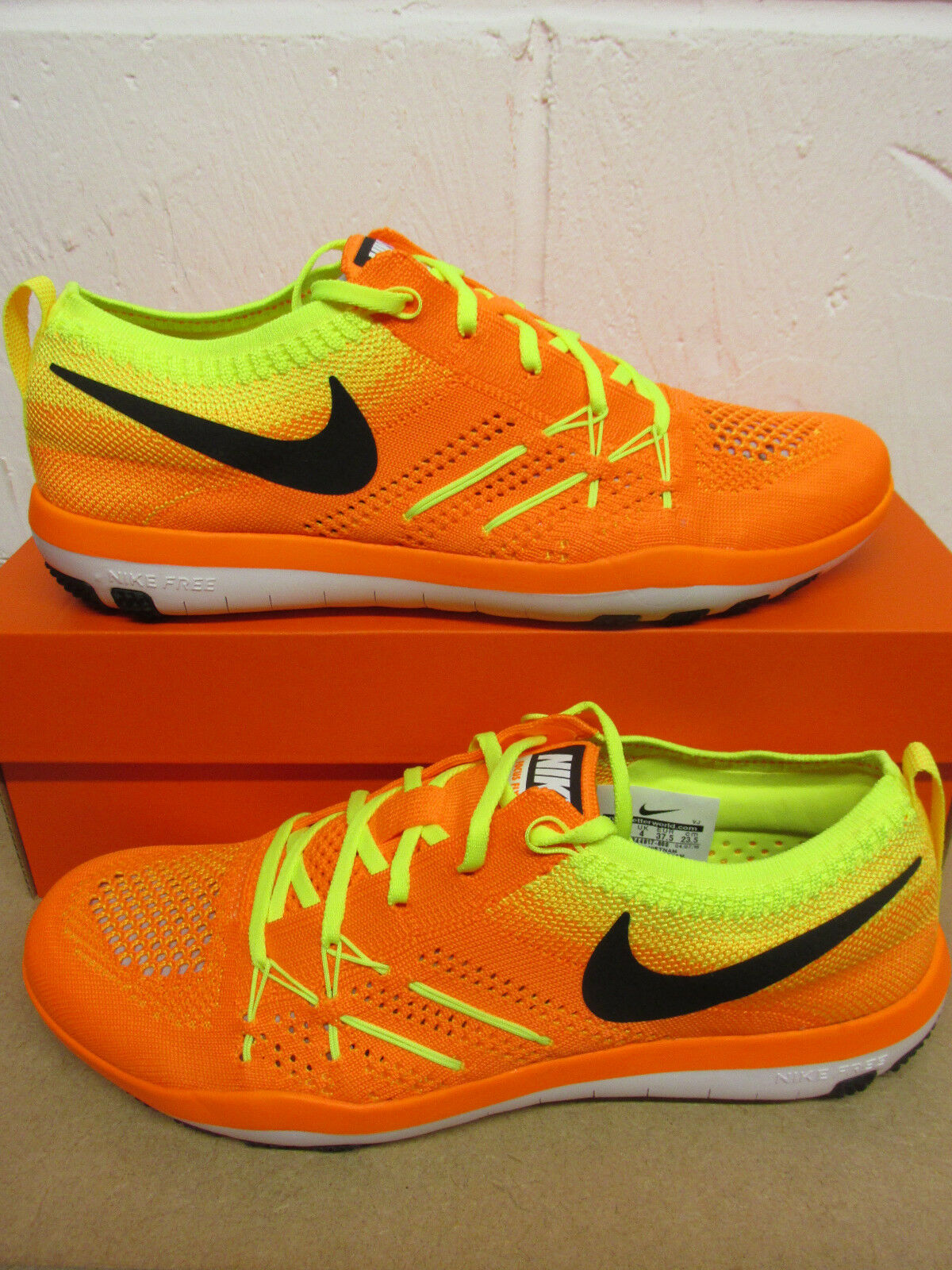 Zapatos promocionales para hombres y mujeres Nike Womens Free TR Focus Flyknit Running Trainers 844817 800 Sneakers Shoes