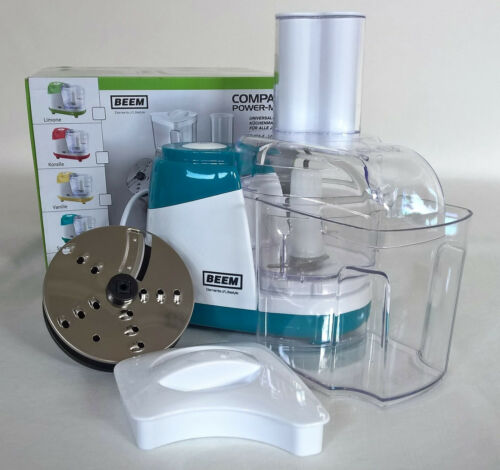 Beem Compact Power-Mixx universel de cuisine Machine à couper Mixer râpes Emeraude
