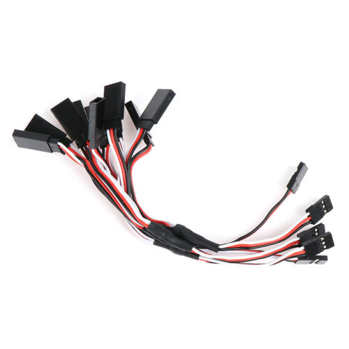 5Pcs 15cm Y Style Servo RC Extension Lead Wire Cord Cable For JR Fu PH