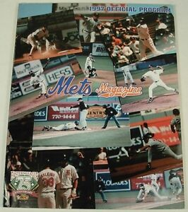 BINGHAMTON NEW YORK NY METS 1997 BASEBALL PROGRAM