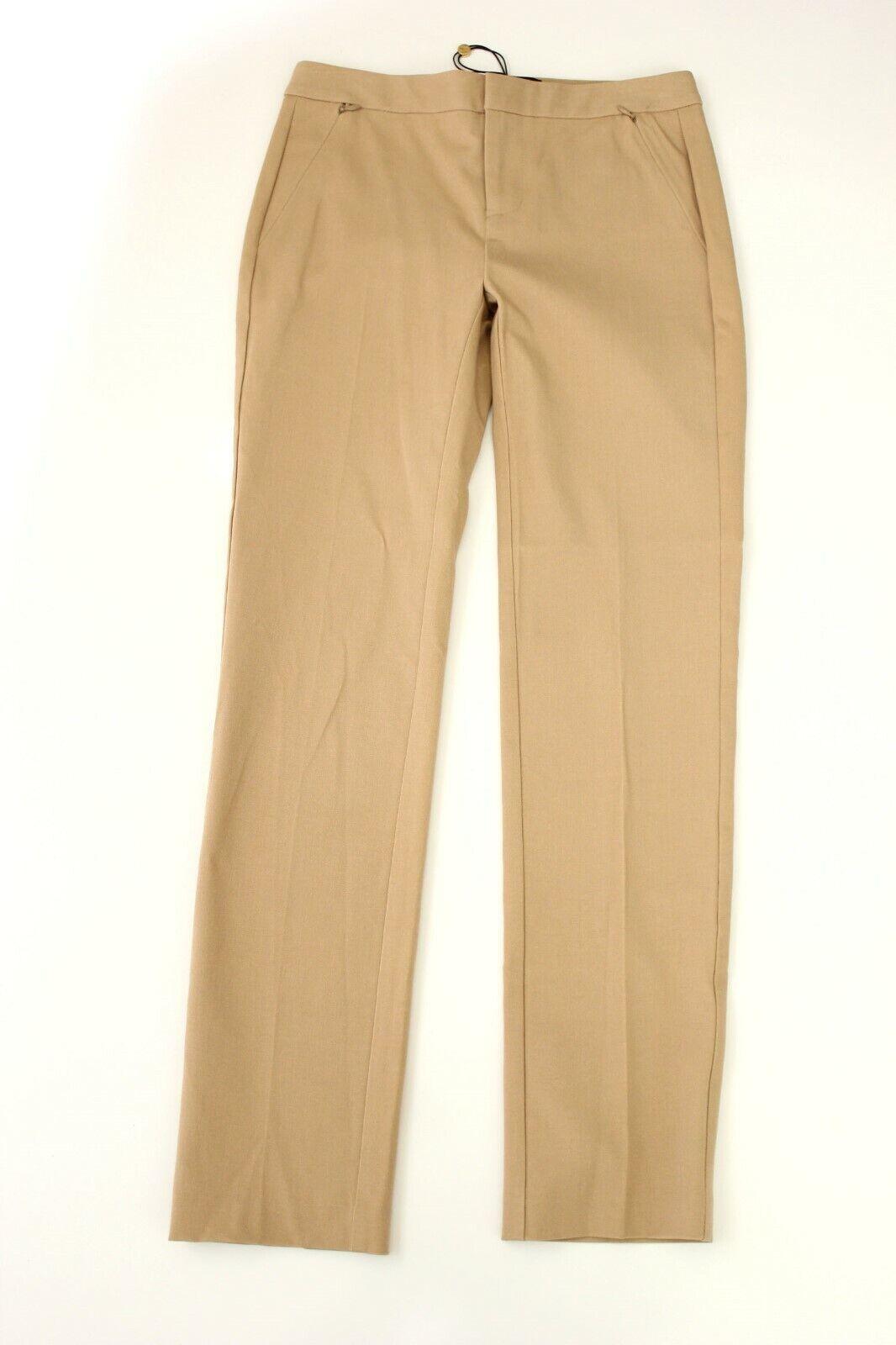 KOBI HALPERIN Khaki Straight Leg Alexandra Pants 0  248