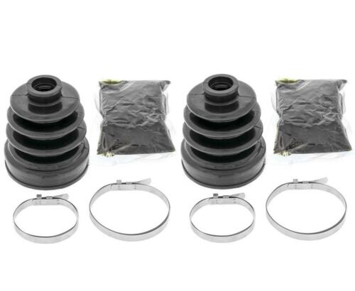1 Each New Front Inner /& Outer CV Boot Kits 2015 Kawasaki 820 Mule Pro-FXT