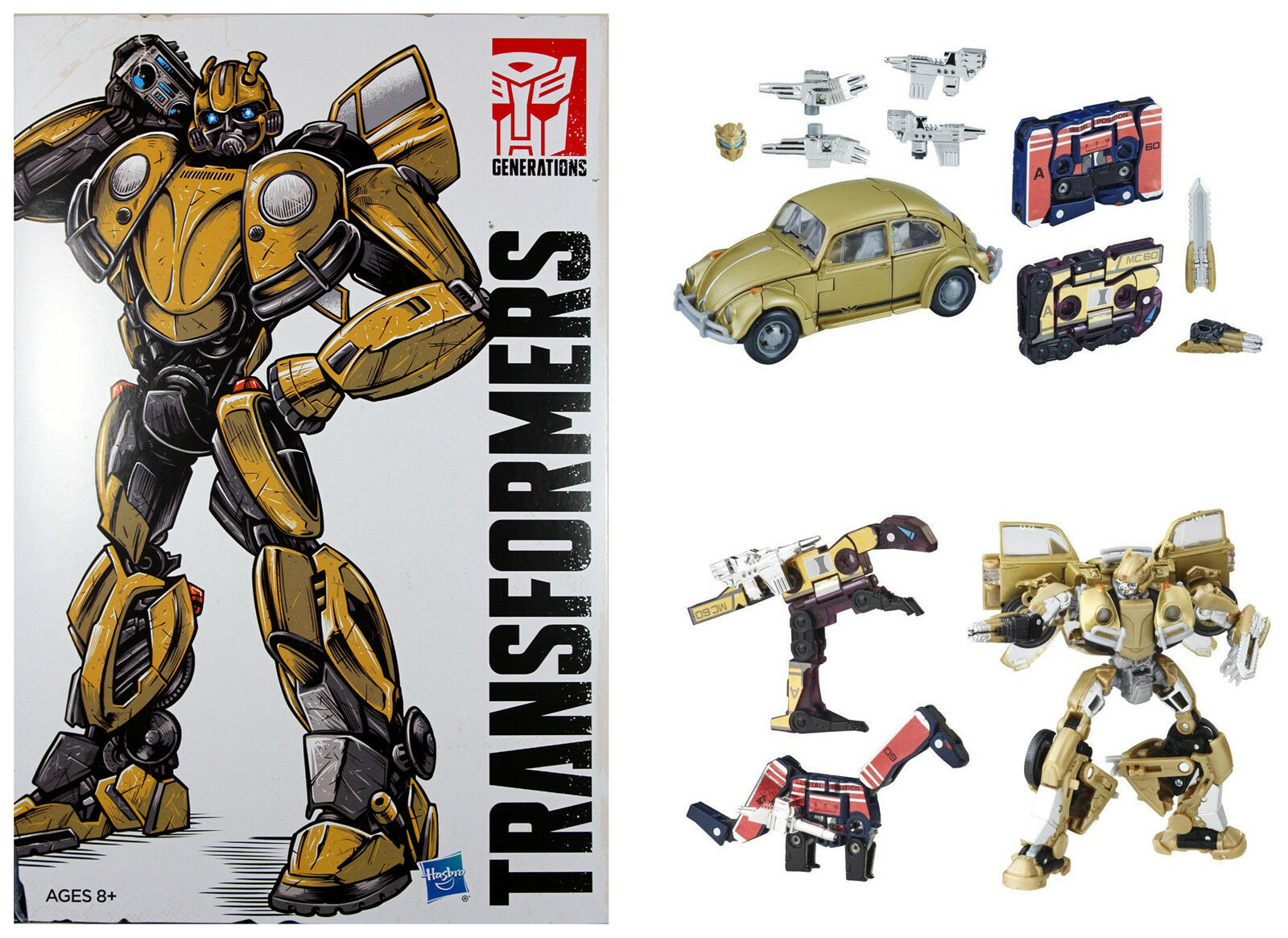 Transformers Studio Series  BUMBLEBEE MOVIE SERIES  Retro Pop Highway