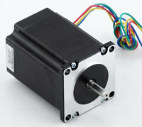 Nema23 Stepper Motor 2.0nm 285oz-in 6.35mm Shaft Cnc Plasma 3d Printer Driver