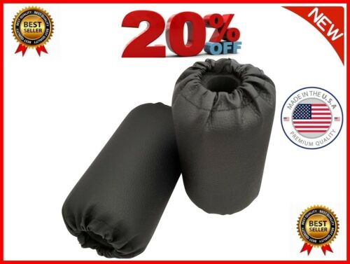 Foam Foot Pads Rollers Set Total Gym Exercise Machine Leg Extension 2 pieces New