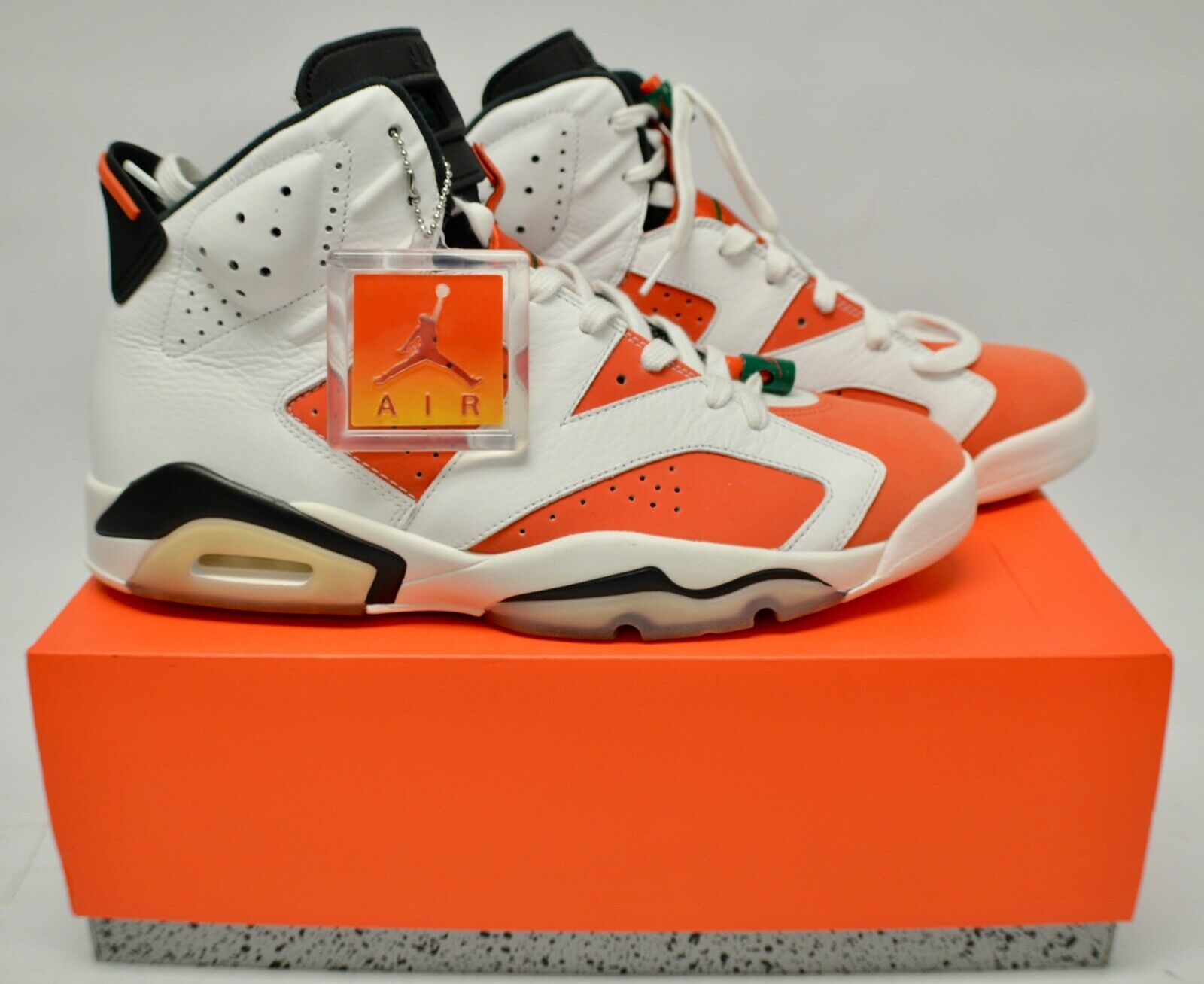 separation shoes d4e98 98d8b Nike Air Jordan Jordan Jordan 6 Retro VI BE LIKE MIKE 384664-145 Gatorade  Size