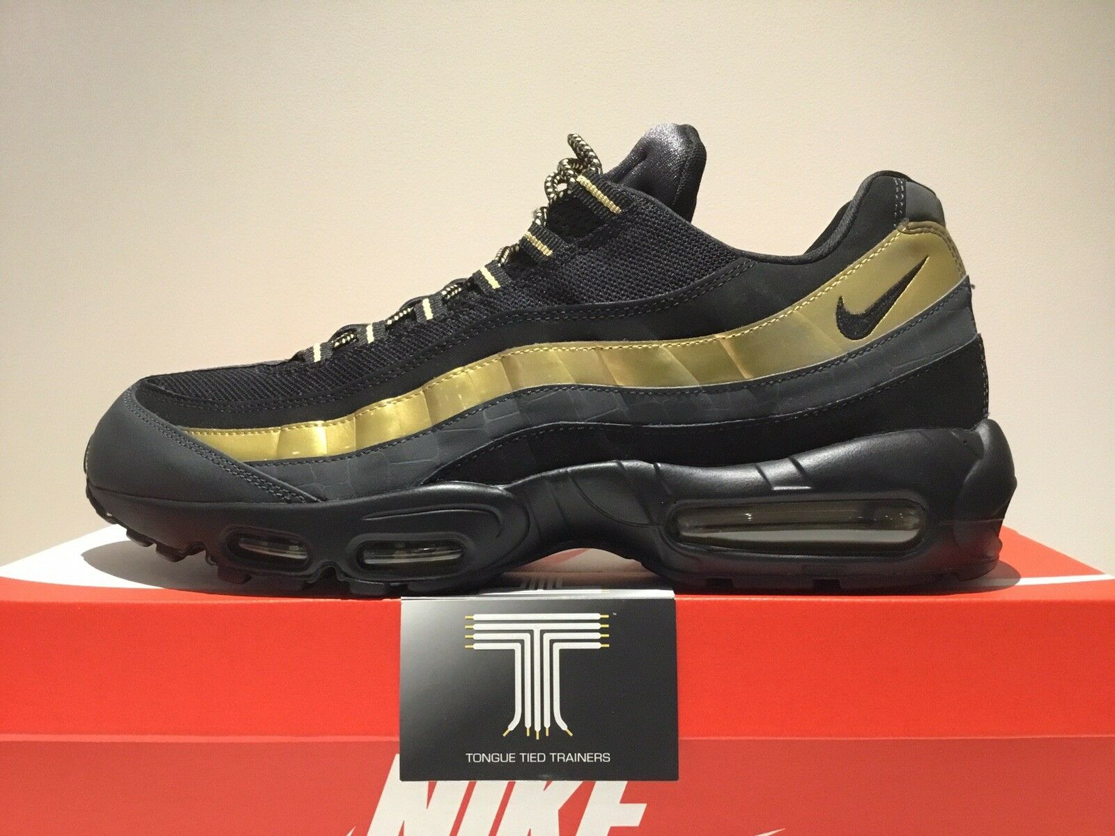 Nike Air Max 95 Premium ~ Super Rare ~ Only 1 On Ebay! ~ 538416 007 ~ Size 13