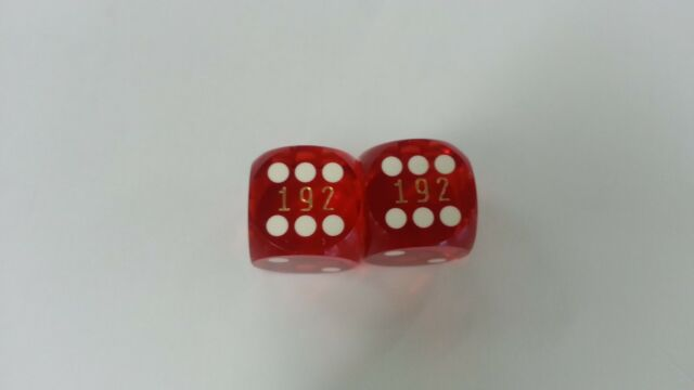 "Casino Polished Green 5//8/"" Precision Backgammon Dice Set Of 2 New"