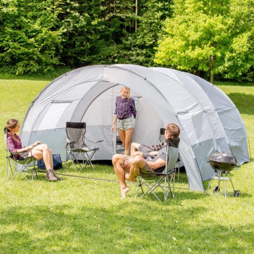 Tente tunnel 6 personne grand groupe familial Colonne d/'Eau Camping Neuf