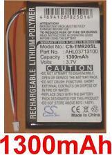 Batterie 1300mAh Pour TomTom GO 920 920T 520 720 XL330 XL330SE XL340 AHL03713100