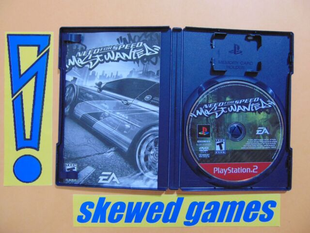Need For Speed Most Wanted - Greatest Hits - cib 2005 - PS2 PlayStation 2 Sony