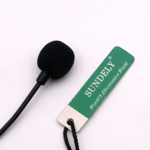 D-Shape Earpiece//Headset Boom Mic VOX For Icom Radio IC-04A IC-04AT IC-04E
