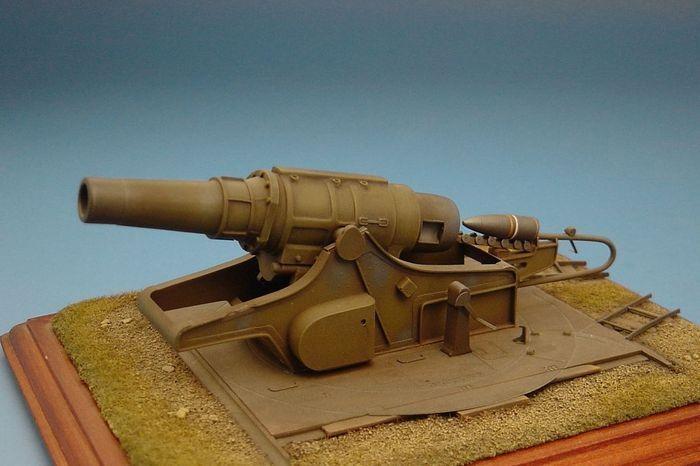 Hauler 1 72 42cm Haubitze M.17(t) Czech German Heavy Howitzer Resin Construction