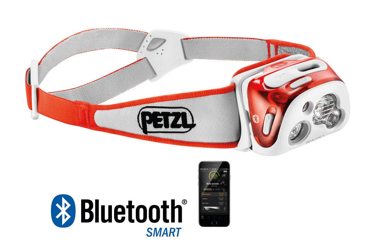 PETZL REACTIK rechargeable, + - Multi-beam, rechargeable, REACTIK intelligent headlamp 107dc7