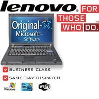 Cheap Laptop IBM Lenovo Thinkpad X200 Core 2 Duo 2GB 160GB Windows 7 Office Wifi
