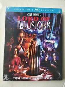 LORD-OF-ILLUSIONS-COLLECTOR-039-S-EDITION-Blu-ray-1987-WITH-SLIPCOVER-OUT-of-PRINT