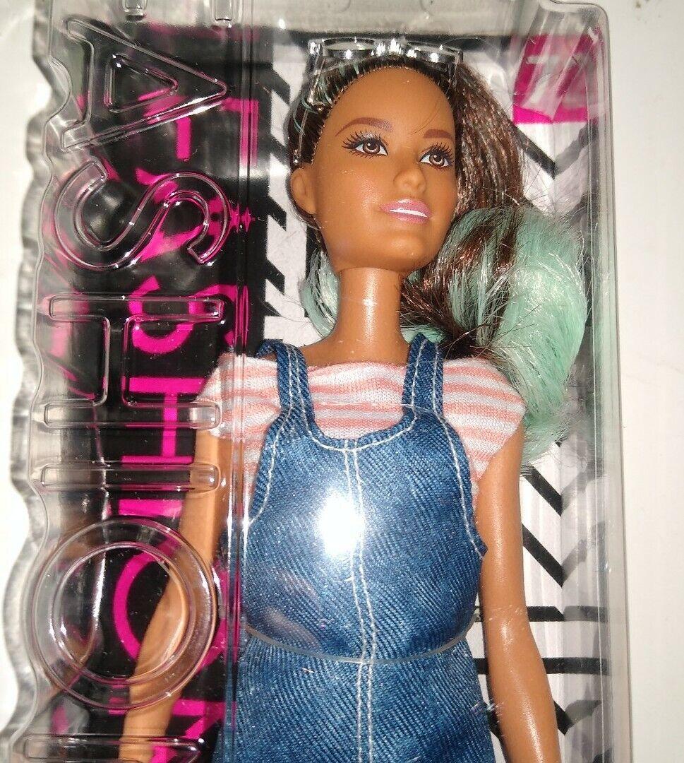 NEW Barbie Teen Sister Skipper Babysitter Doll Hairband Purple Streak Hair Nude