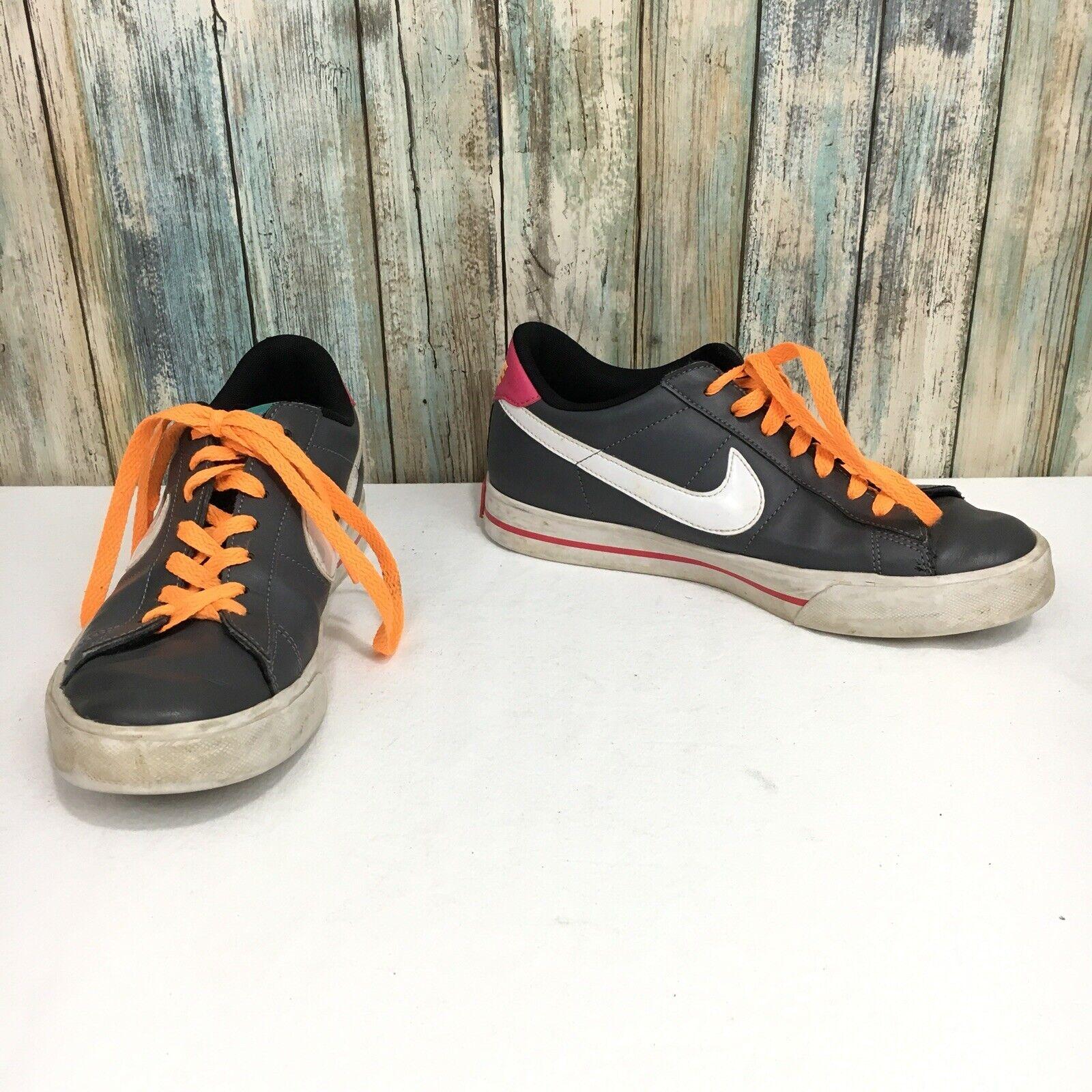 Nike rosa pelle arancione grigio donne 9 dolce basso sopra le scarpe le scarpe 354496   Qualità e quantità garantite    Uomo/Donna Scarpa