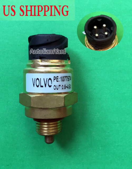 1077574 Oil Pressure Temperature Sensor For Volvo D12 VN VNL Truck 6306707  New