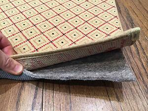 Rug Gripper Non Slip Rug Pad Recycled Fiber Felt And