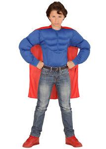 Super-heros-Muscle-Deguisement-pour-enfant-NEUF-Garcons-Carnaval-Costume