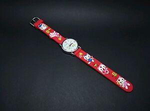 Kinder-Uhr-ViVE-Lernuhr-Armband-Uhr-Silikon-TOP-NEU-3D-Motive
