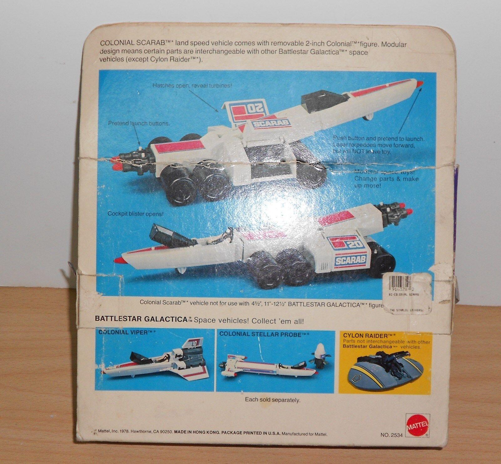 Mattel BATTLESTAR GALACTICA GALACTICA GALACTICA COLONIAL SCARAB Space Vehicle - VINTAGE 1978 d4e685