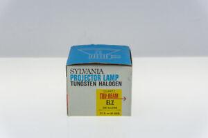 Vintage Sylvania Projector Lamp Tungsten Halogen Quartz Tru-Beam ELZ 150 Watts