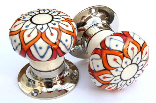 Ceramic and Glass Room Door Knobs Mortice Door Knobs Door Turners Shabby Chic
