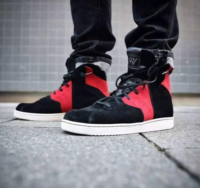 Nike Air Jordan Westbrook 0.2 High Black Red Suede Banned Bred 1 Mens sz 8 shoes