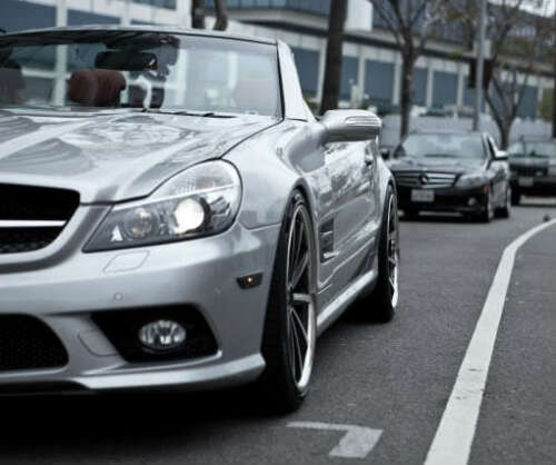 2003-12 Mercedes Benz SL 500 Adjustable Lowering Links Air Suspension Kit R230